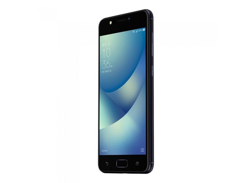 Smartphone Asus Zenfone Max 32GB 13 MP 2 Chips Android 7.0 (Nougat) 3G 4G Wi-Fi