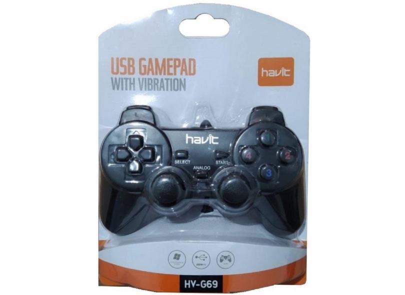Controle PC PS3 HV-G69 - Havit