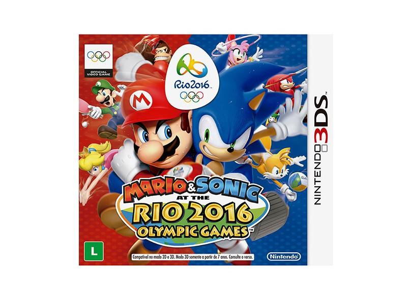 Jogo Mario & Sonic at the Rio 2016 Olympic Games Nintendo Nintendo 3DS