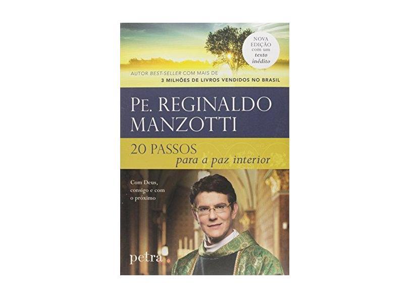 20 Passos Para A Paz Interior - Repack - Manzotti, Reginaldo - 9788582780473