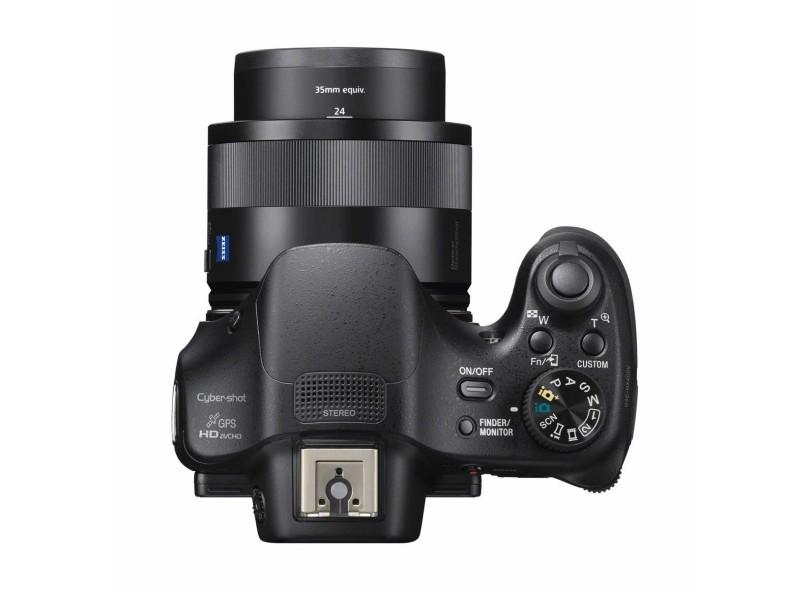 Câmera Digital Semiprofissional Sony Cyber-Shot 20.4 MP Full HD HX400V