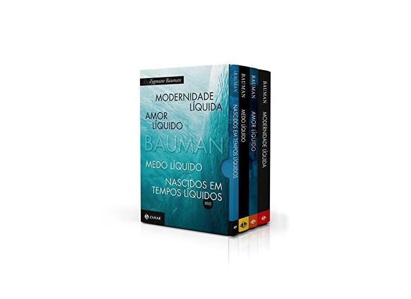Box Zygmunt Bauman. Para Entender o Mundo Líquido - Zygmunt Bauman - 9788537817964