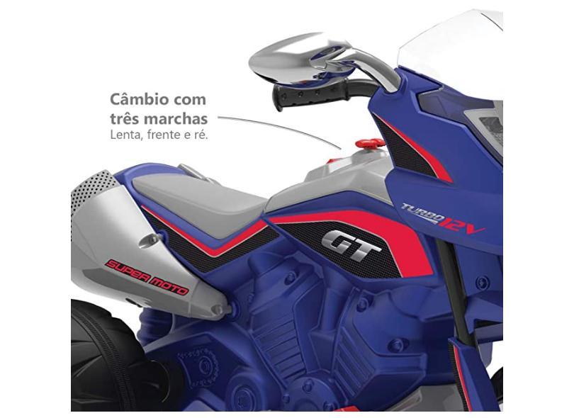 Mini Moto Elétrica Moto GT Turbo - Bandeirante