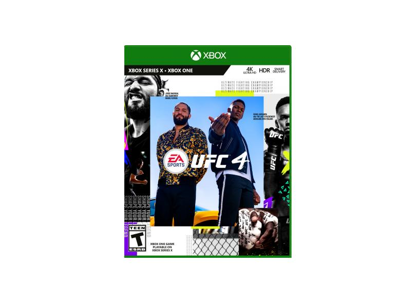Jogo UFC 4 Xbox One EA