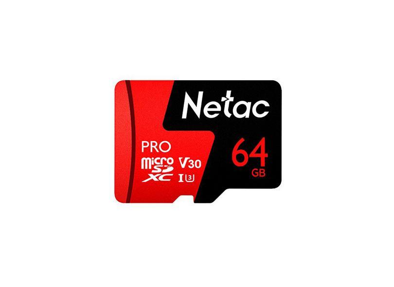 Cartão de Memória Micro SD Netac 64.0 GB P500
