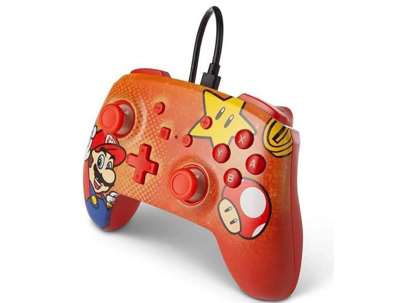 Controle Nintendo Switch Mario Vintage - Power A