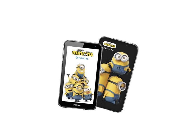 """Tablet Positivo Twist RK3126 32.0 GB LCD 7 """" Android 8.0 (Oreo) Twist Tab Minions T770KM"""