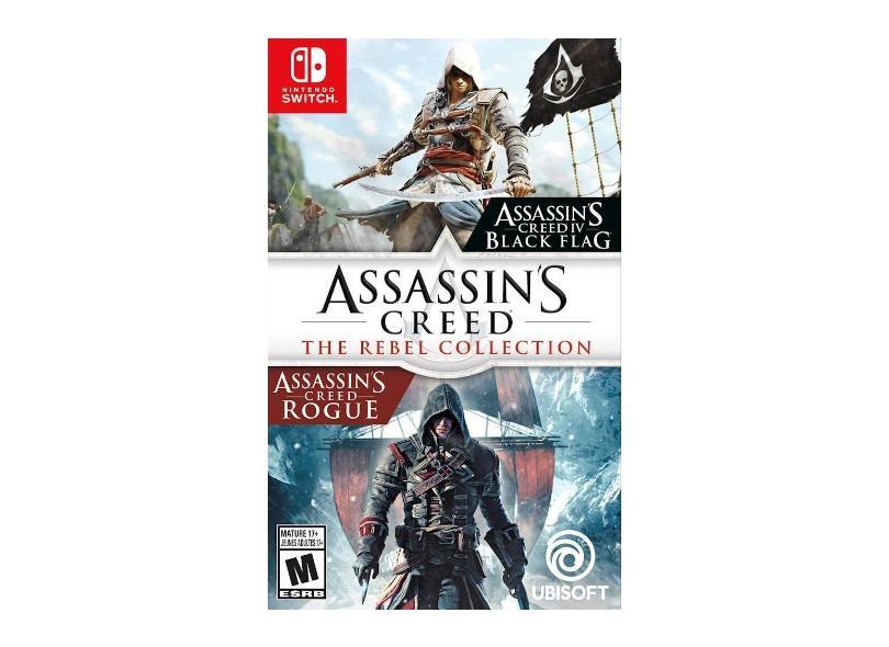 Jogo Assassin`s Creed: The Rebel Collection Edição Steard Ubisoft Nintendo Switch