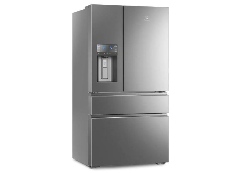 Geladeira Electrolux Frost Free French Door Inverse 540 l Inox DM91X