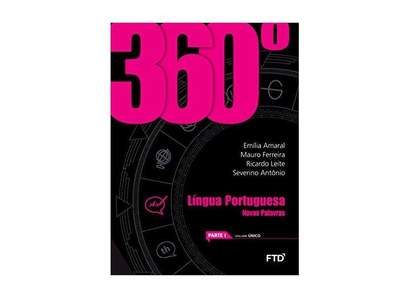 360º. Língua Portuguesa: Novas Palavras: Novas Palavras - Conjunto - Emília Amaral - 7898592137685