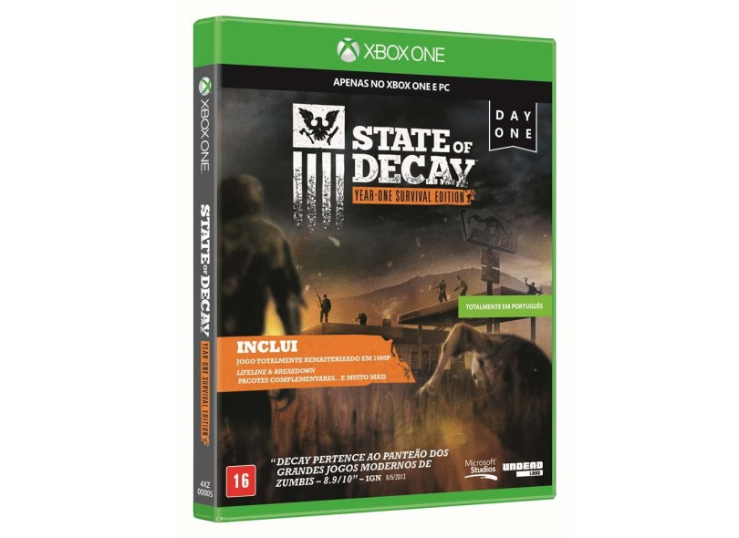 Jogo Xbox One Undead Labs