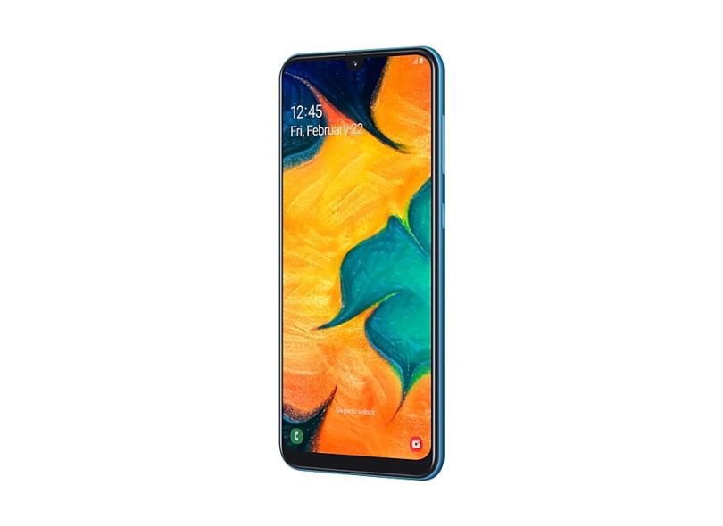 Smartphone Samsung Galaxy A30 64GB 16,0 MP 2 Chips Android 9.0 (Pie) 3G 4G Wi-Fi