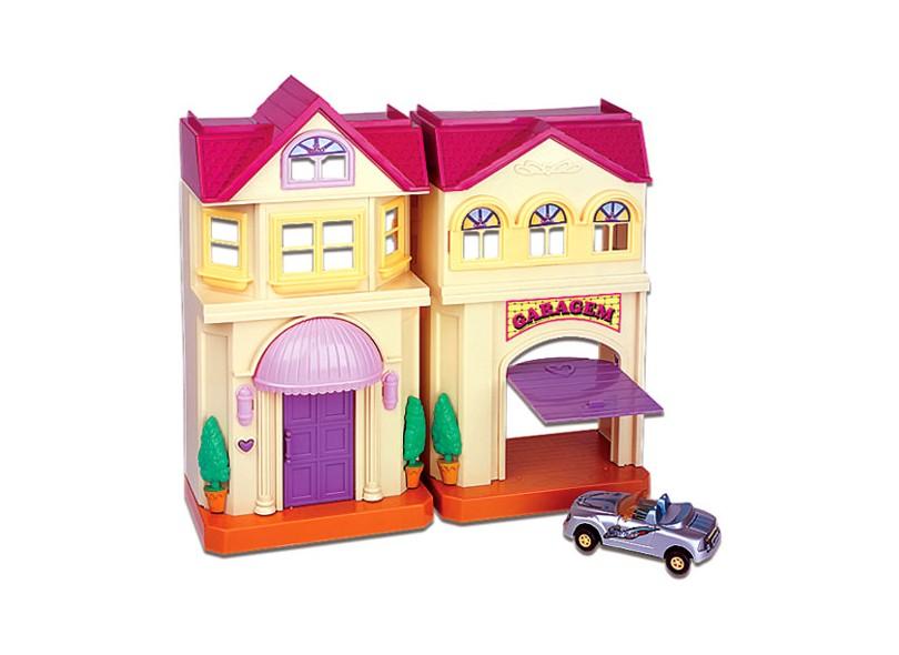 Boneca Casinha dos Sonhos Garagem Braskit