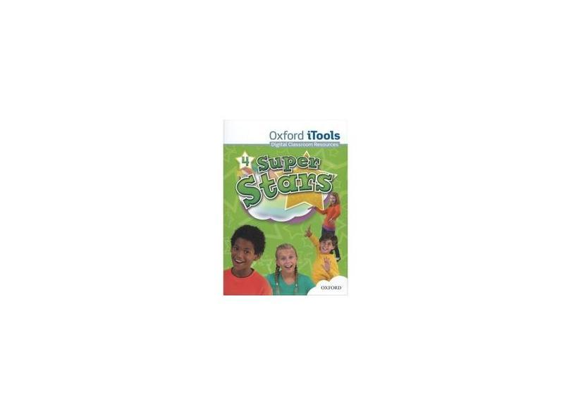 Super Stars 4 -Itools + DVD-ROM - Editora Oxford - 9780194100885