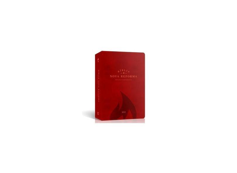 Bíblia Nova Reforma - Nvi - Estudo e Referência - Vermelha - Deiros, Pablo A. - 9788000003832