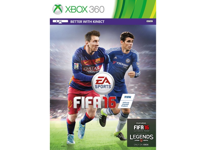Jogo Fifa 16 Xbox 360 EA