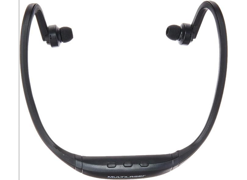 Fone de Ouvido Bluetooth com Microfone Rádio Multilaser Sport PH263
