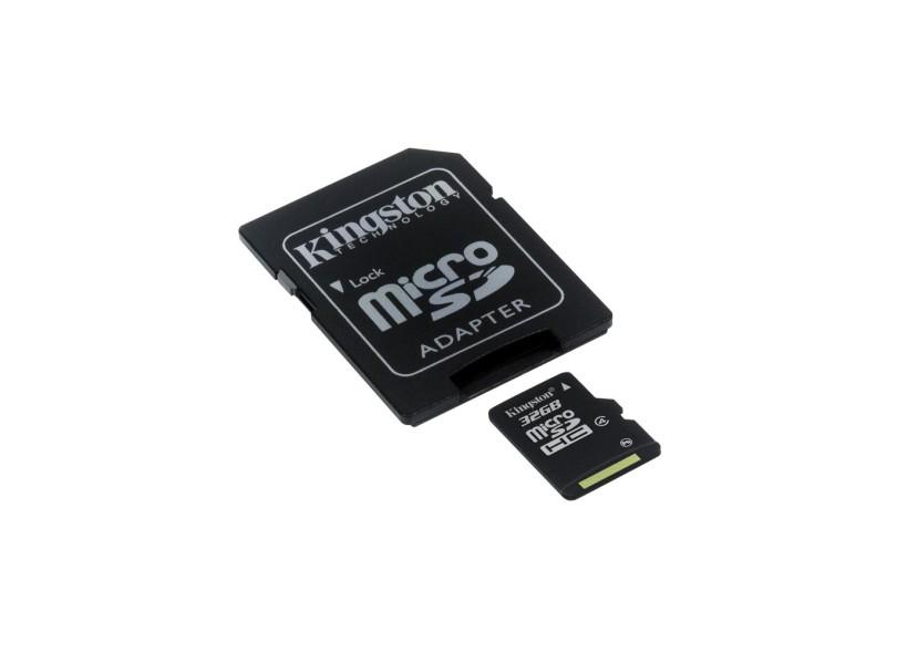 Cartão de Memória Micro SDCH Kingston 32 GB SDC4/32GB