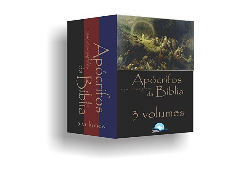 Coleção Apócrifos e Pseudo-Epígrafos da Bíblia - Caixa com 3 Volumes - Eduardo De Proença - 9788592384142