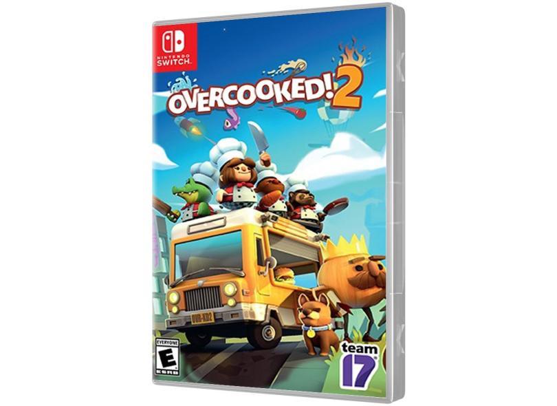 Jogo Overcooked 2 Team17 Nintendo Switch