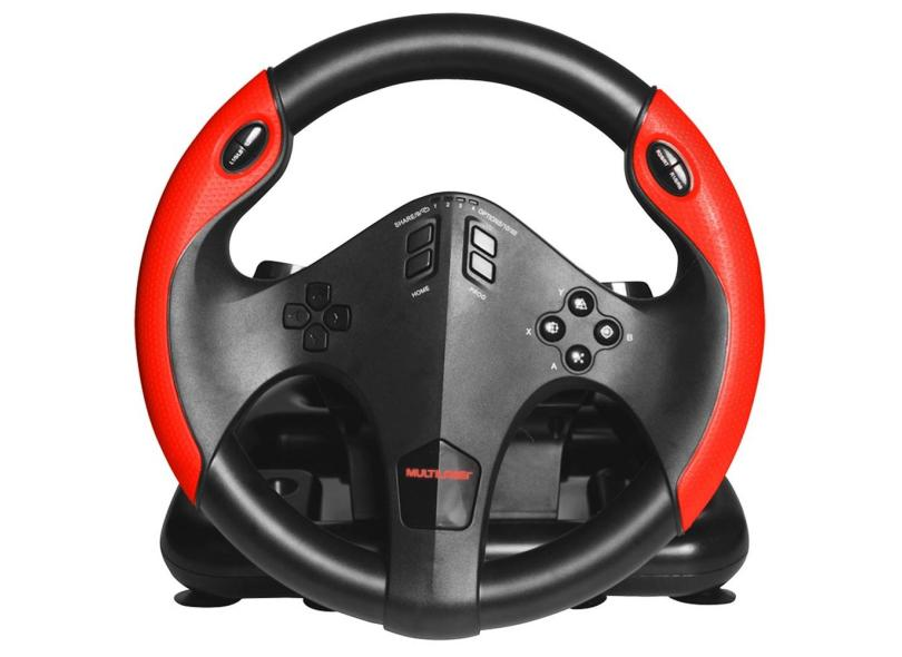 Volante PS4 Xbox One PC PS3 JS087 - Multilaser