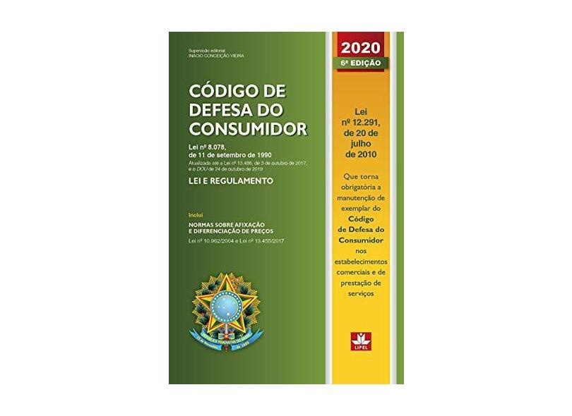 Código de Defesa do Consumidor. 2019 - Inácio Conceição Vieira - 9788589988575