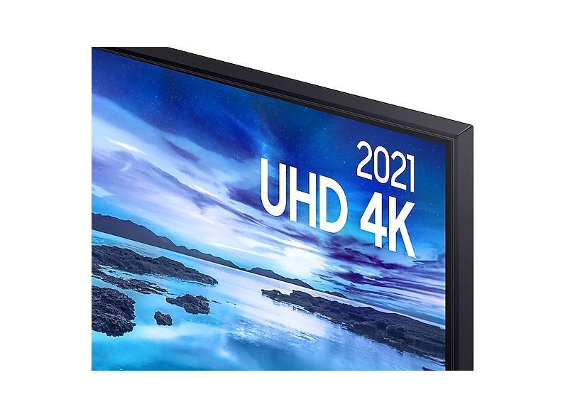 "Smart TV TV LED 75"" Samsung Crystal 4K HDR UN75AU7700GXZD 3 HDMI"