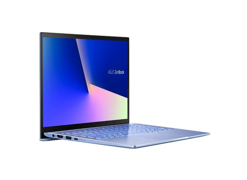 """Notebook Asus Zenbook Intel Core i7 10510U 10ª Geração 8.0 GB de RAM 256.0 GB 14 """" Full Windows 10 UX431FA-AN203T"""