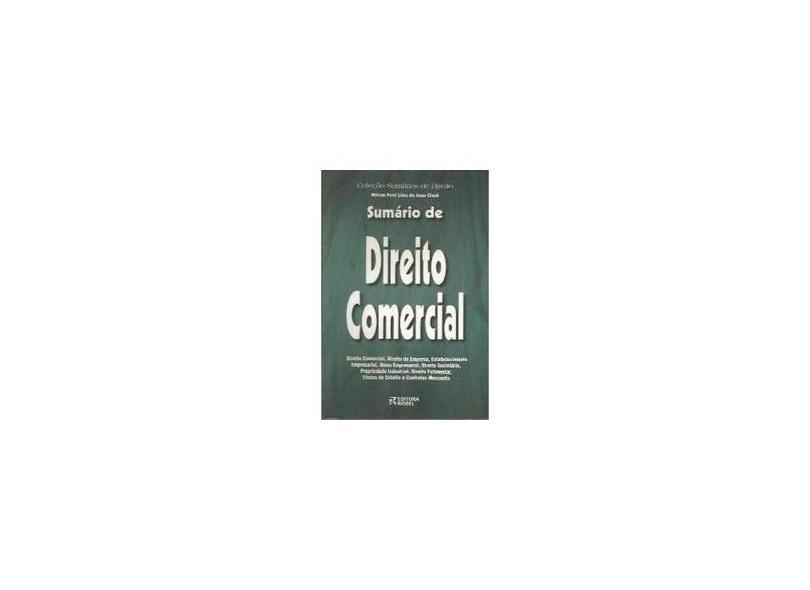 Sumario de Direito Comercial - Giusti,miriam Petri Lima De Jesus - 9788533905313