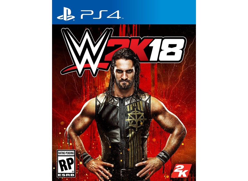 Jogo WWE 2K18 PS4 2K