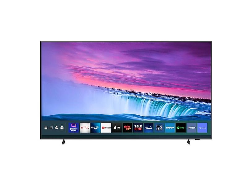 """Smart TV TV QLED 55"""" Samsung The Frame 4K HDR QN55LS03AAGXZD 4 HDMI"""