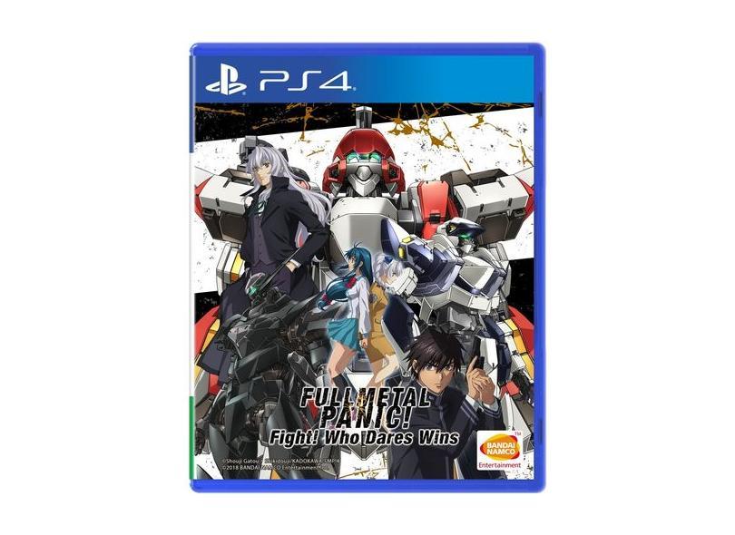 Jogo Full Metal Panic Fight Who Dares Wins PS4 Bandai Namco