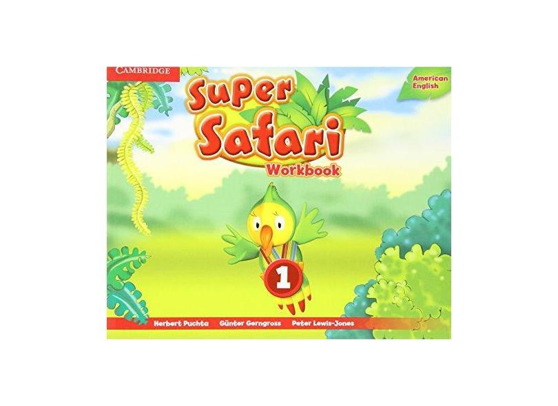 Super Safari 1 Wb Amer Eng - Cambridge - 9781107481787