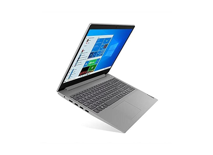 "Notebook Lenovo IdeaPad 3i Intel Core i3 10110U 4.0 GB de RAM 1024 GB 15.6 "" Windows 10 82BS0002BR"