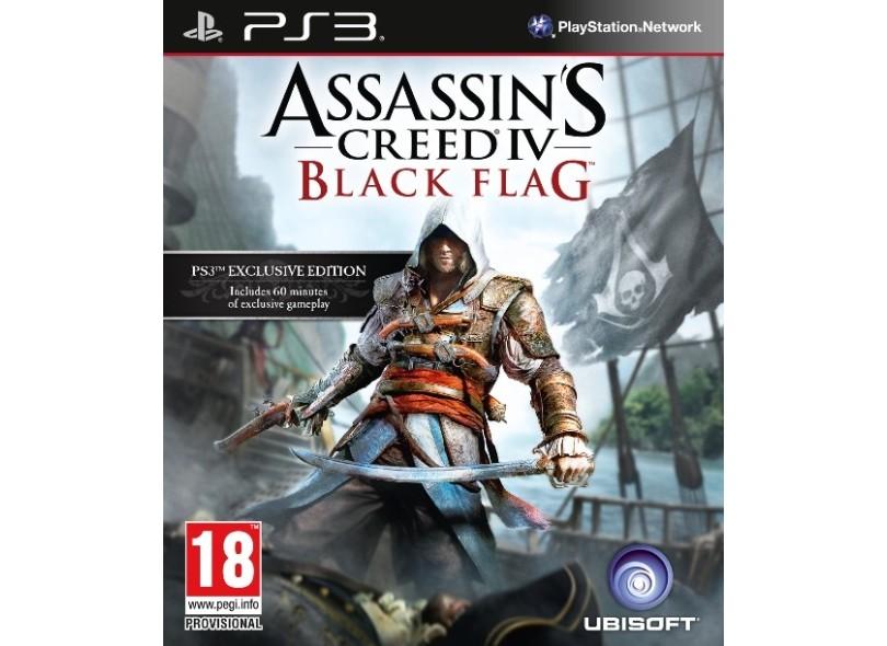 Jogo Assassin's Creed IV Black Flag PlayStation 3 Ubisoft