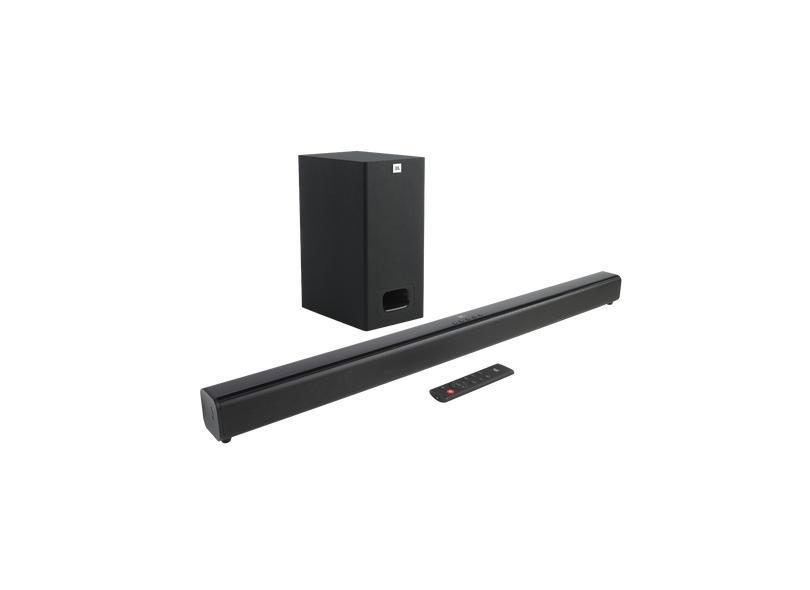 Home Theater Soundbar JBL 55 W 2.1 Canais 1 HDMI SB130