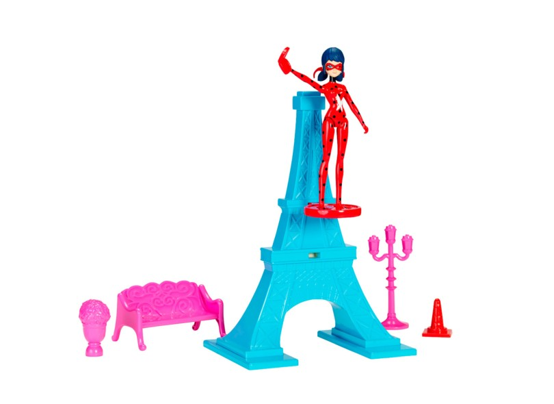 Boneca Miraculous Ladybug Torre Eiffel Sunny