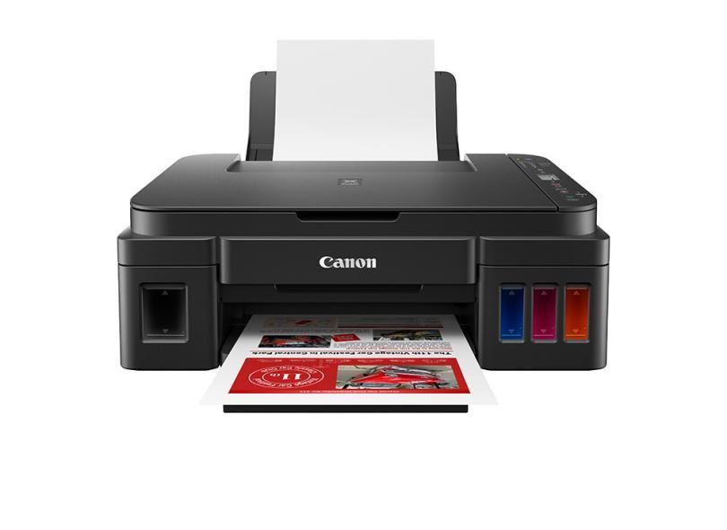 Impressora Multifuncional Canon Mega Tank G3160 Jato de Tinta Colorida Sem Fio