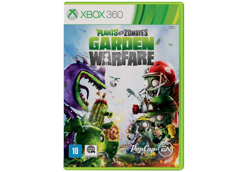 Jogo Plants vs Zombies: Garden Warfare Xbox 360 Popcap