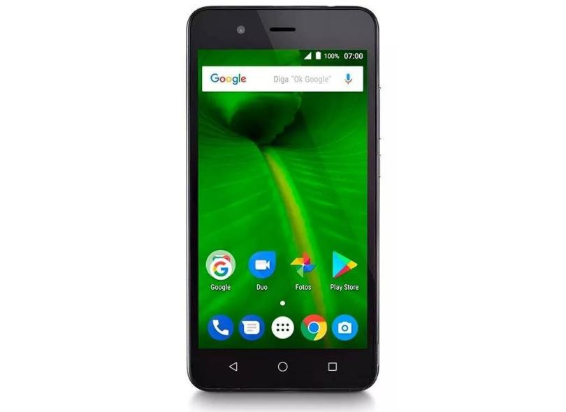 Smartphone Multilaser MS50L 16GB 8 MP 2 Chips Android 7.0 (Nougat) 3G 4G Wi-Fi