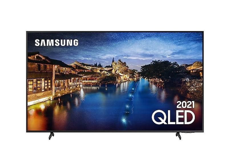 "Smart TV TV QLED 65"" Samsung 4K HDR QN65Q60AAGXZD 3 HDMI"