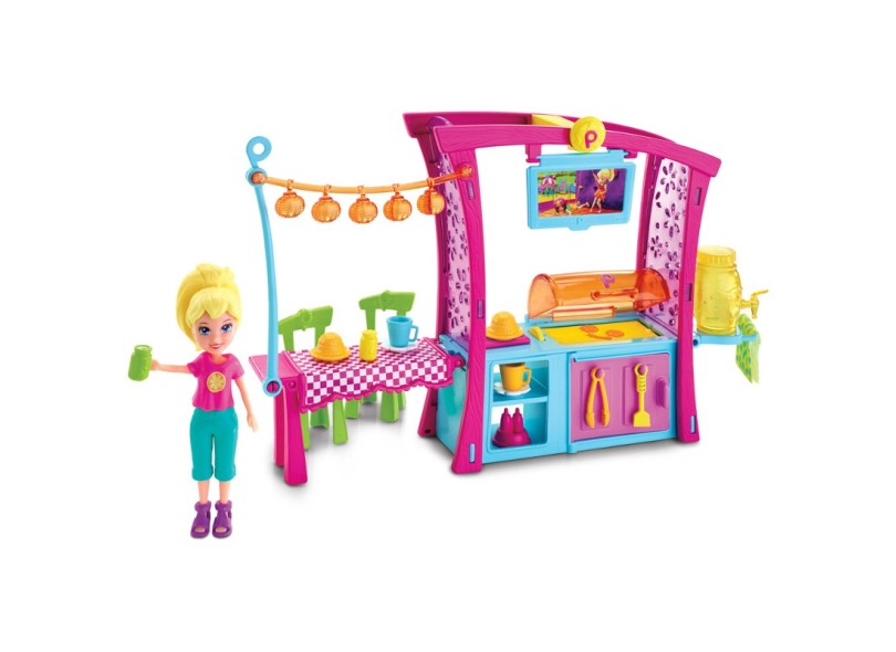 Boneca Polly Churrasco Divertido Mattel