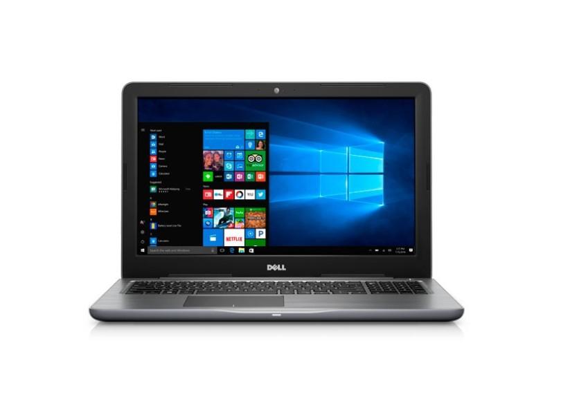 "Notebook Dell Inspiron 5000 Intel Core i5 7200U 7ª Geração 8GB de RAM HD 1 TB 15,6"" Radeon R7 M445 Windows 10 i15-5567-A30"
