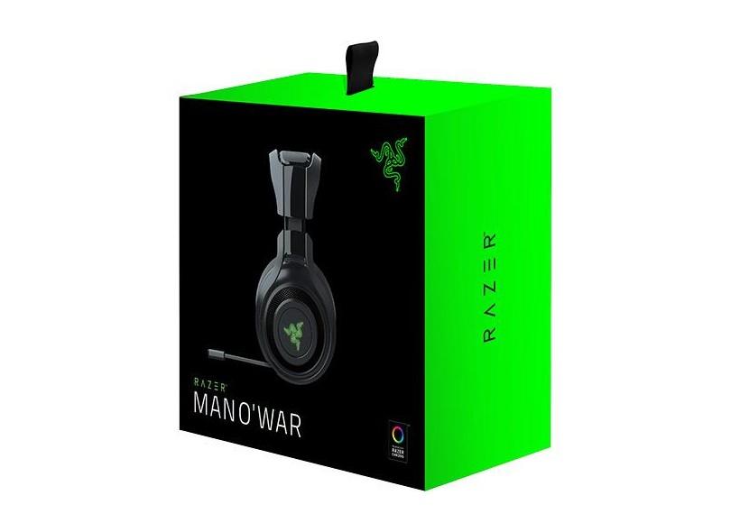 Headset Wireless com Microfone Razer Man O'war