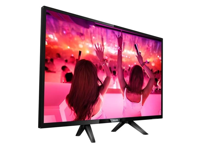 "Smart TV TV LED 32"" Philips Série 5100 Netflix 32PHG5102/78 3 HDMI"