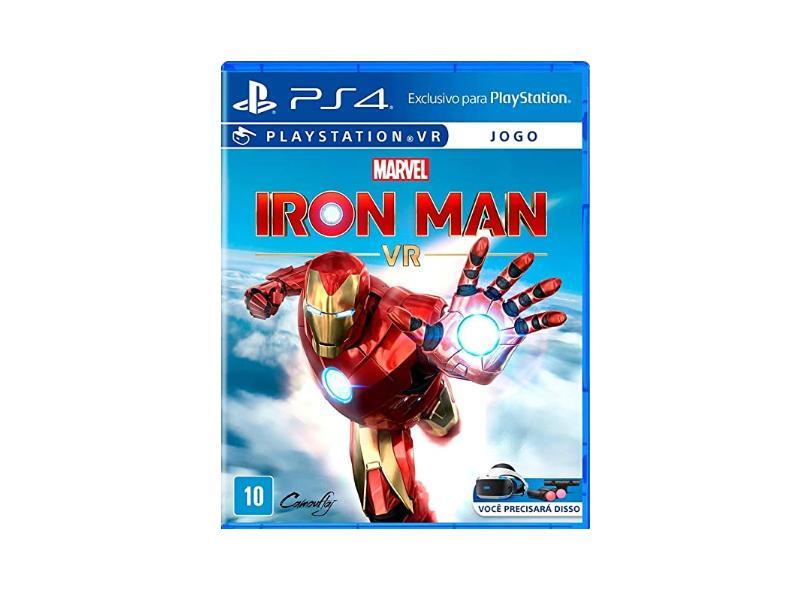 Jogo Marvel's Iron Man VR PS4 Sony