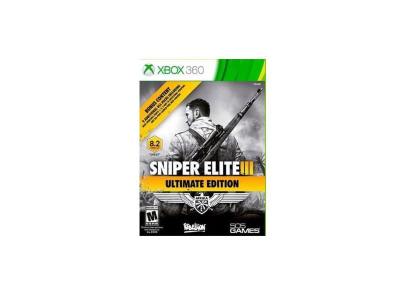 Jogo Sniper III Ultimate Edition Xbox 360 505 Games