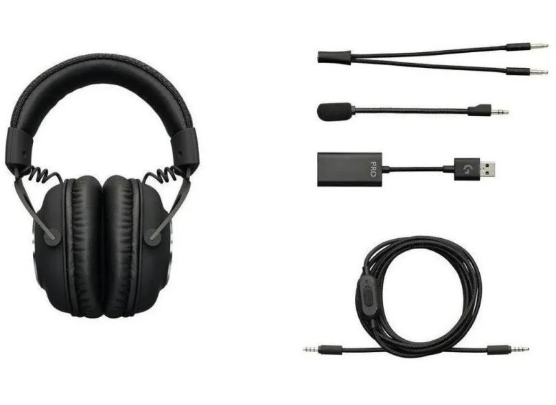 Headset Gamer com Microfone Logitech G Pro