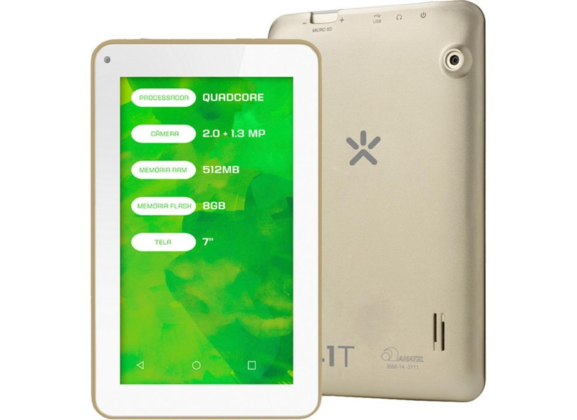 """Tablet Mirage 8.0 GB LCD 7 """" Android 4.4 (Kit Kat) 41T"""