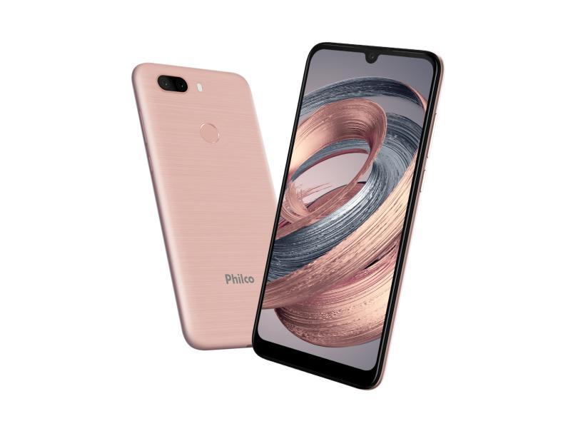 Smartphone Philco PCS02RG 128GB Câmera Dupla Android 10